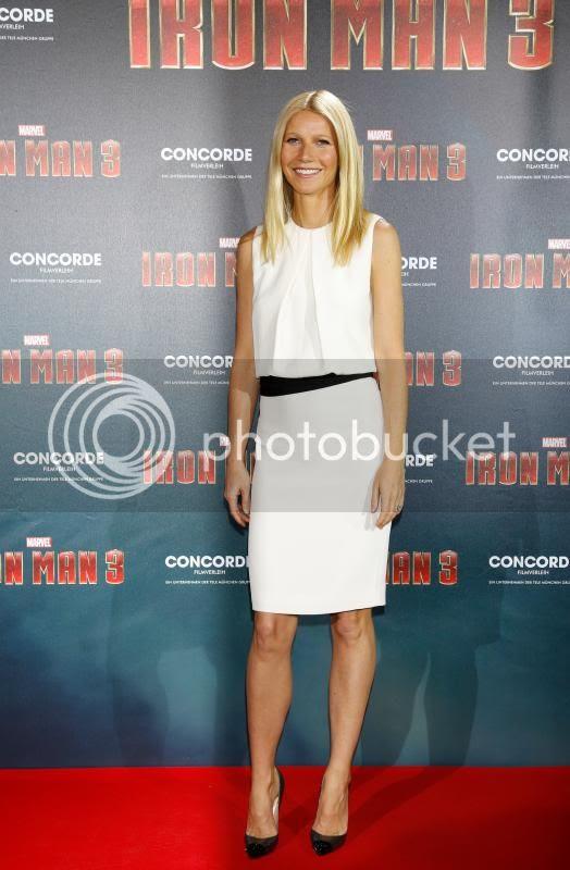 Iron Man 3 photo: Gwyneth Paltrow in Munich promoting