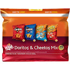 Fritolay Doritos & Cheetos Mix Variety Pack - 20 count, 19.6 oz bag