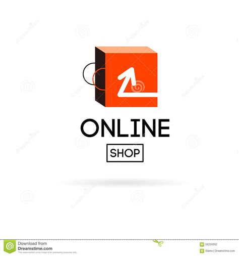 store design logo stock vector image