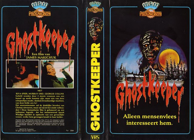 Ghost Keeper (VHS Box Art)