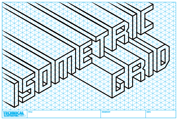 how to create an isometric grid in illustrator