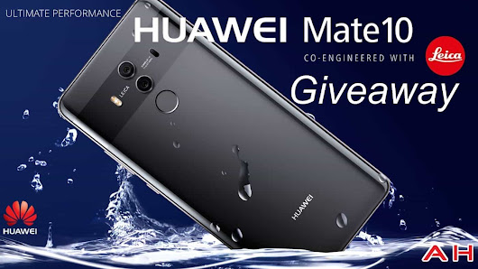 Win A Huawei Mate 10 Pro With Huawei & AndroidHeadlines – International Giveaway
