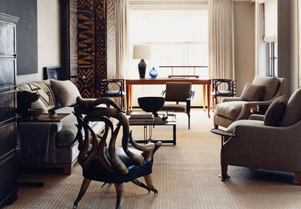 Soft Modern Apartment Interior Design | DigsDigs
