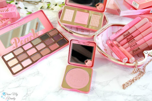 Too Faced Sweet Peach Collection - Is It Worth the Hype? - From My Vanity
