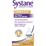 Systane Lubricant Eye Drops, Complete Fast Acting Optimal Hydration For Dry Eyes, 10 mL