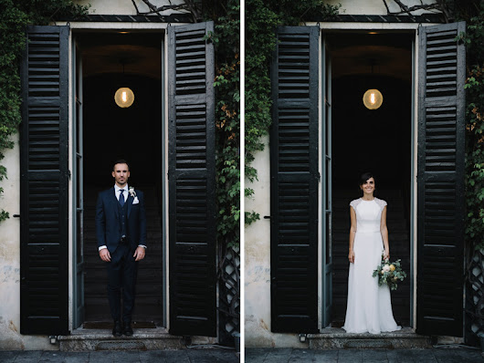 Wedding photographer Como Lake // Silvia & Thomas // Villa Monastero Pax & Chiesa S. Abbondio
