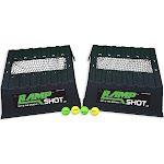 RampShot Cornhole Family Game Set w/ 2 Ramps, 4 Balls, 2 Nets and Instructions by VM Express