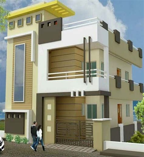 modern house front elevation  home decoration ideas