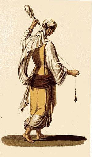English: Woman from Delphi Ελληνικά: Γυναίκα α...