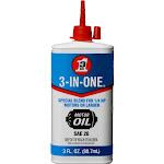 WD-40 3-In-One Electric Motor Oil -  3 fl oz bottle