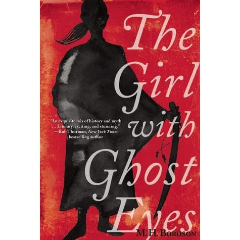 a review of The Girl with Ghost Eyes