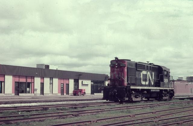 CN 3656 in Truro, Nova Scotia