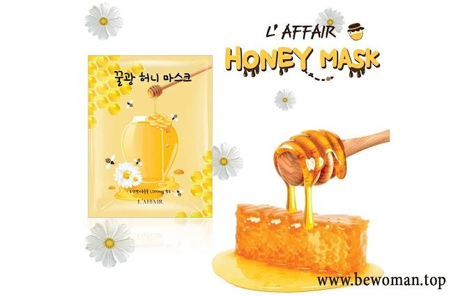 [Review] Mặt nạ chống lão hóa Rainbow L'affair Honey Mask