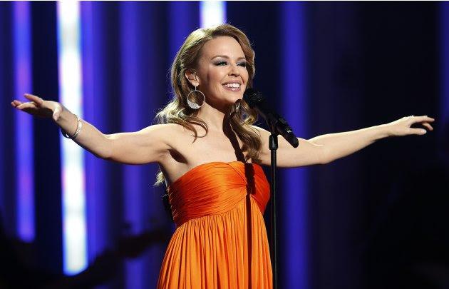 Singer Minogue performs at…