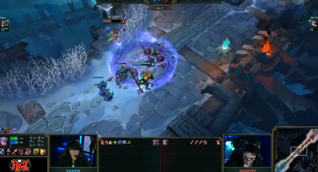 Watching 1v1s in League of Legends, especially when they involve Faker, is a treat screenshot