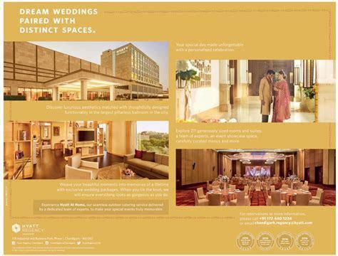 Hyatt Regency Chandigarh Dream Weddings Paired With