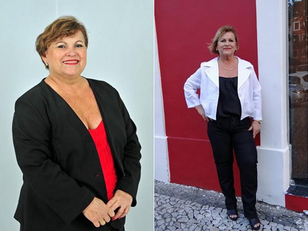 """""""É uma mudança de hábito. A perda de peso é uma consequência e não um objetivo"""", conclui Aurenice (Foto: Arquivo pessoal/Aurenice Accioly Lins)"""