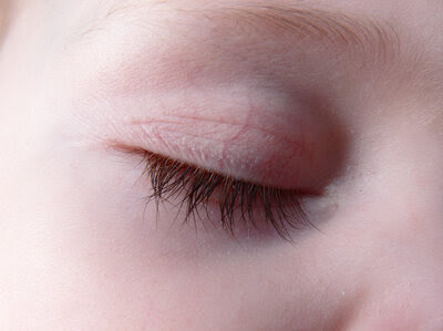 Baby eyelashes; what could be better?