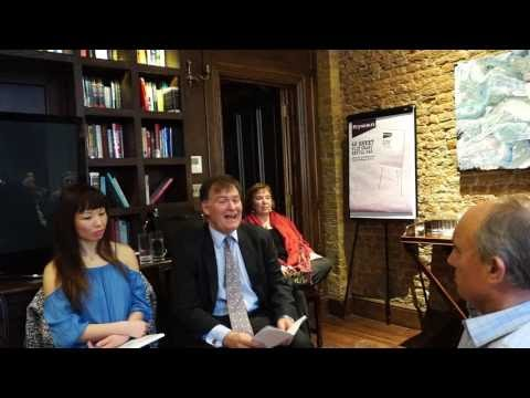 Rooted to Resiliency: Panel Discussion in Covent Garden, London