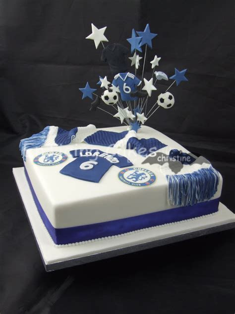 Chelsea FC   EnTicing Cakes by Christine