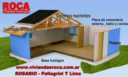Casas prefabricadas madera casas prefabricadas viviendas for Viviendas industrializadas precios