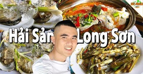 Ăn hải sản tươi ngon ở Làng Bè Long Sơn Vũng Tàu | Duy Jungle