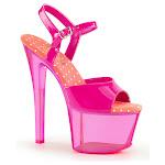 Women's Pleaser Sky 309UVT Ankle-Strap Sandal