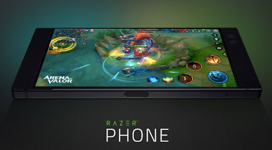 Razer Phone 120Hz supported games list in 2018