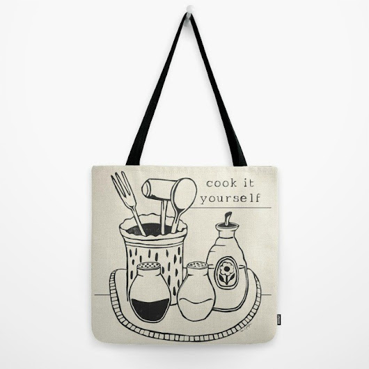 "New ""Cook It Yourself"" Tote & More $5 Off & FREE Shipping Sunday Only"