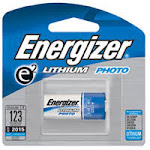 Energizer Advanced Photo Lithium 3 Volt Battery El123Apbp - 1 Ea