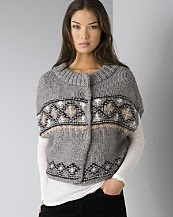 French Connection Women's Merry Cross Knits Sweater