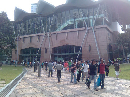Walking to KL Convention Centre