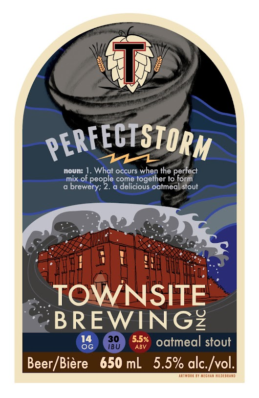 The Storm Returns - Townsite's Perfect Storm Oatmeal Stout That Is