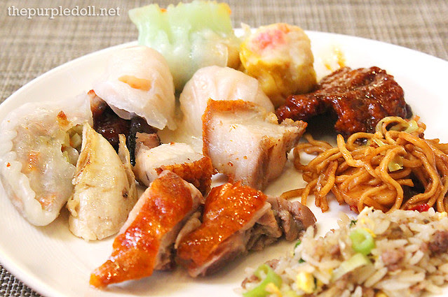 Chinese Wok Dishes and Dimsum at Spiral Sofitel Manila