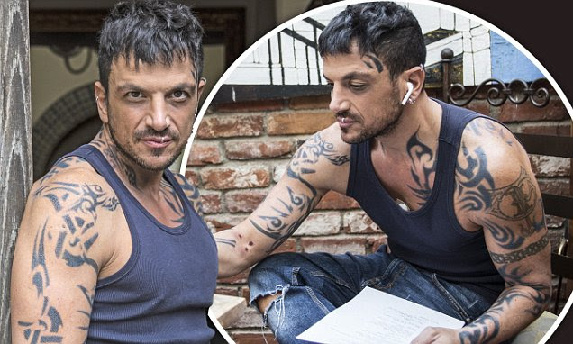 Peter Andre As Youve Never Seen Him Before Squeaky Clean Star