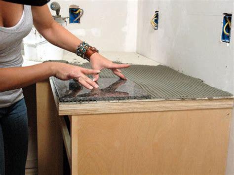 install  granite tile kitchen countertop  tos