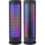 "Alta Speaker HZ-9411 Fantasy Color Dancing Portable Bluetooth 10W Speaker 9.25"""