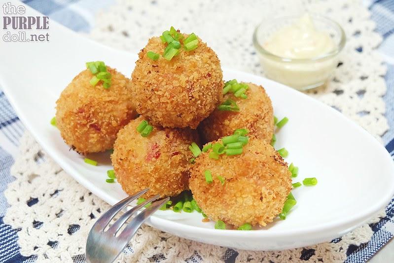 Lutong Bahay: Easy Mashed Potato + Ham and Cheese Potato ...