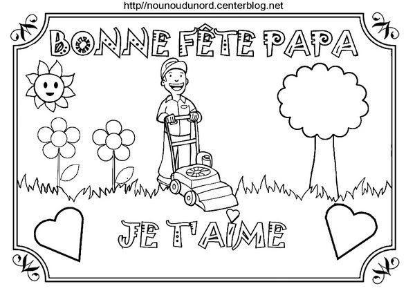 Coloriage Fete Des Peres Poemes Gif