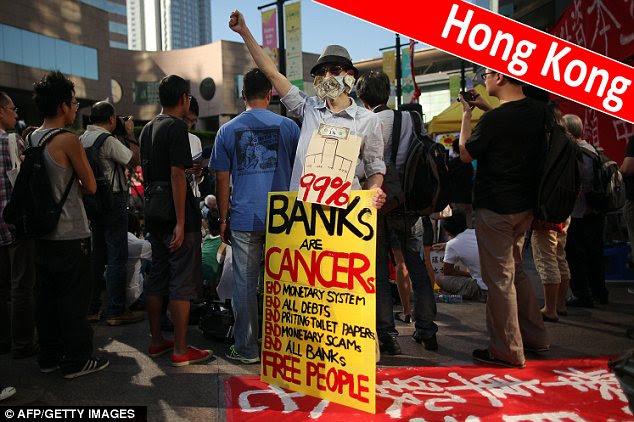 Anger has also spread to Hong Kong