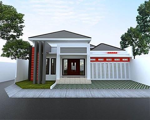 Desain Rumah Minimalis Tampak Depan Dengan Batu Alam Sinergi Stone