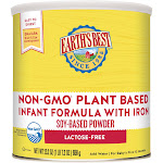 Earth's Best - Non-GMO Soy Plant Based Infant Formula Powder with Iron - 23.2 oz.