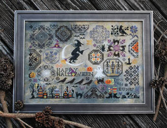 Image result for halloween quaker cross stitch