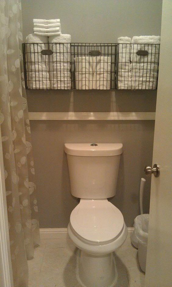 Tiny Bathroom Decor Ideas Storage Spaces