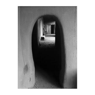 Adobe Passageway Photograph Acrylic Wall Art