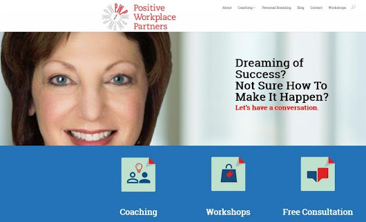New Website Launched for Executive Coach