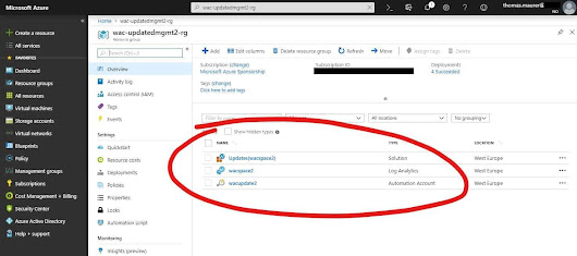 Azure Update Management using Windows Admin Center - Thomas Maurer