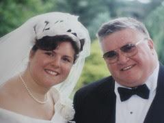 Dad & me - Wedding, 1994