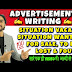 Advertisement Writing Format for CBSE Class 12 Examples