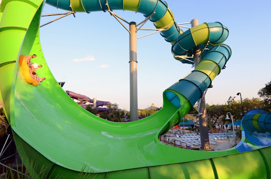 "The world's first hybrid zero-gravity water slide says ""screw physics"""